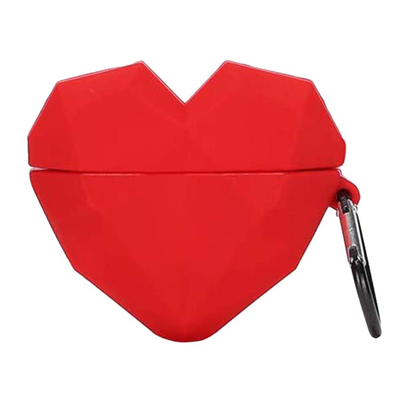 Силиконовый футляр Heart series для наушников AirPods