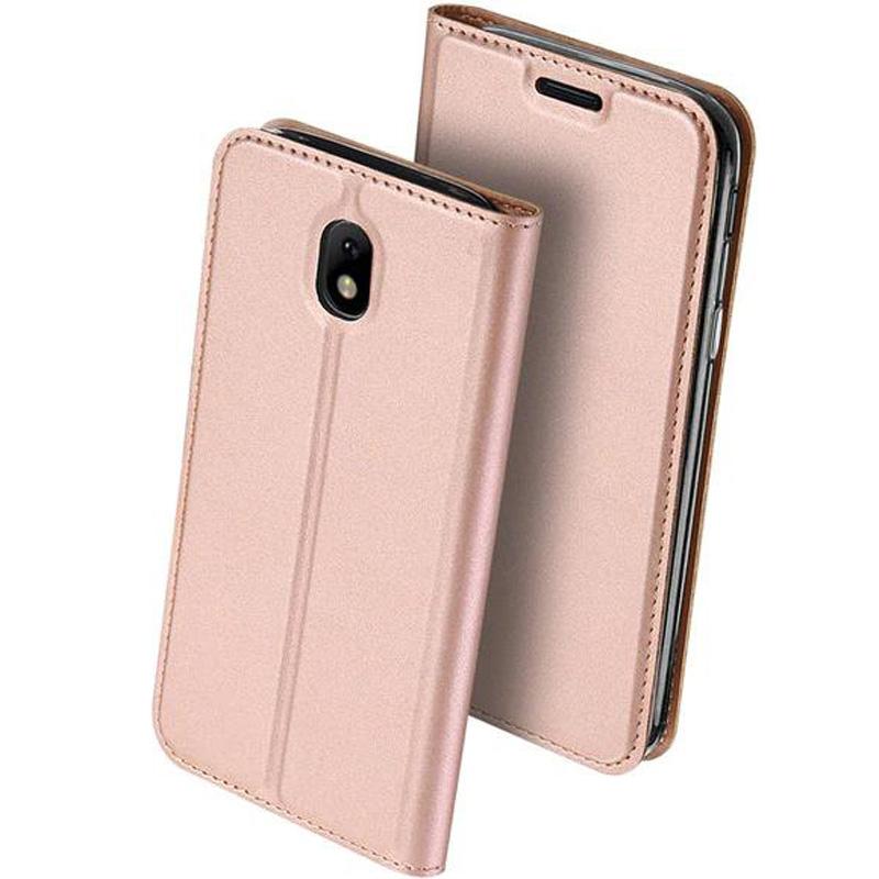 Чехол-книжка Dux Ducis с карманом для визиток для Samsung J730 Galaxy J7 (2017)