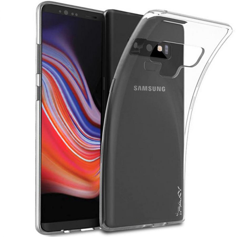 TPU чехол iPaky Clear Series (+пленка) для Samsung Galaxy Note 9