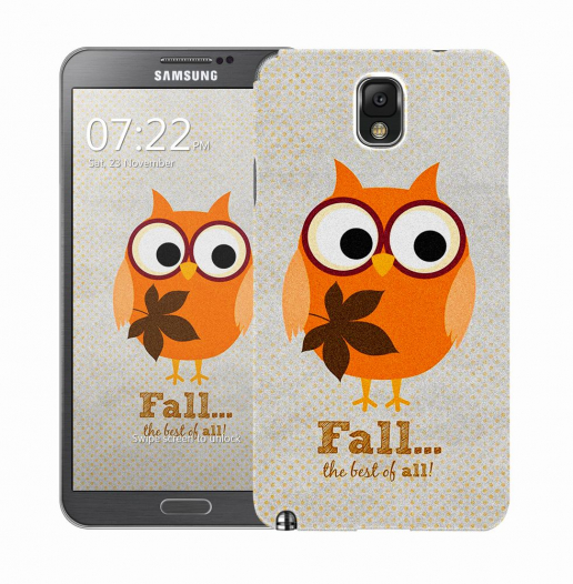 Чехол «Fall owl» для Samsung Galaxy Note 3 N9000/N9002