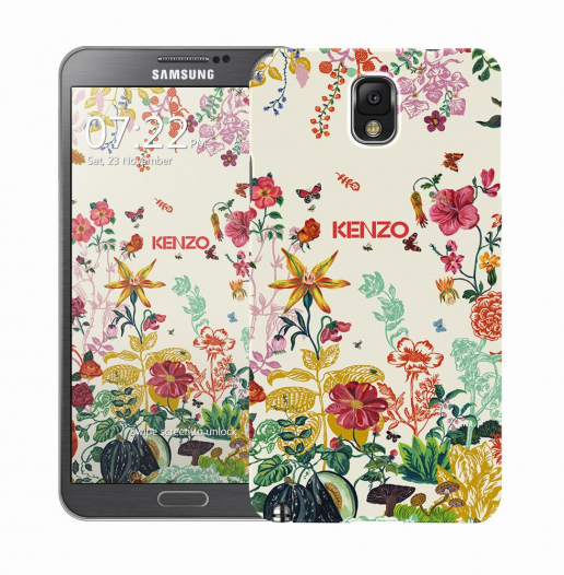 Чехол «Kenzo Flowers» для Samsung Galaxy Note 3 N9000/N9002