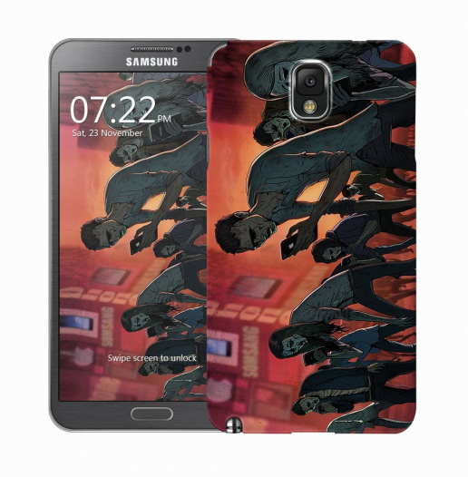 Чехол «Zombie phone» для Samsung Galaxy Note 3 N9000/N9002