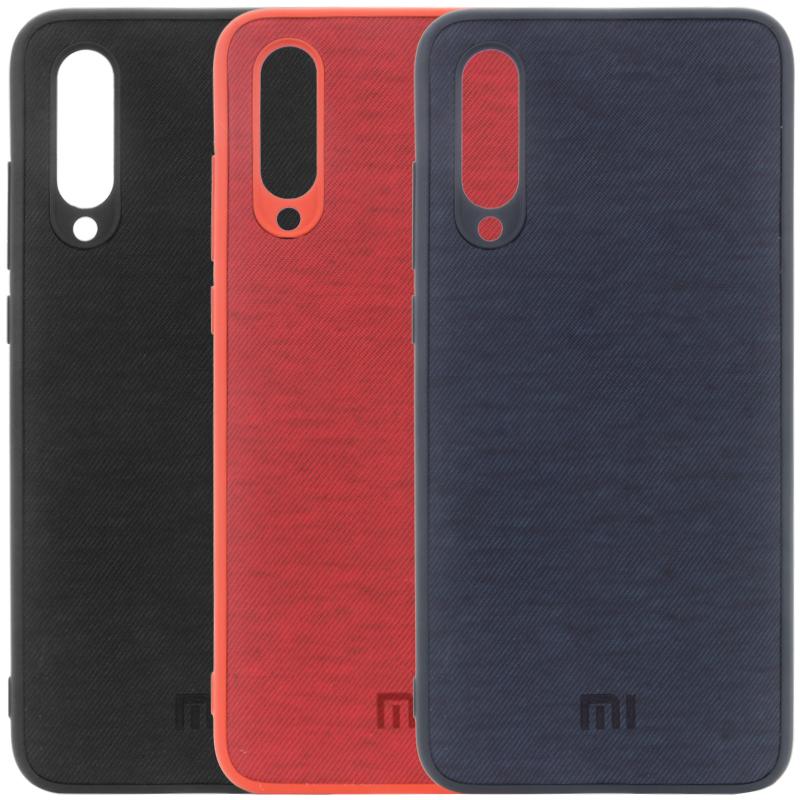 TPU чехол Textile Logo для Xiaomi Mi A3 (CC9e)