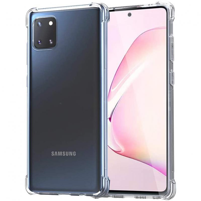 TPU чехол GETMAN Ease с усиленными углами для Samsung Galaxy Note 10 Lite (A81)