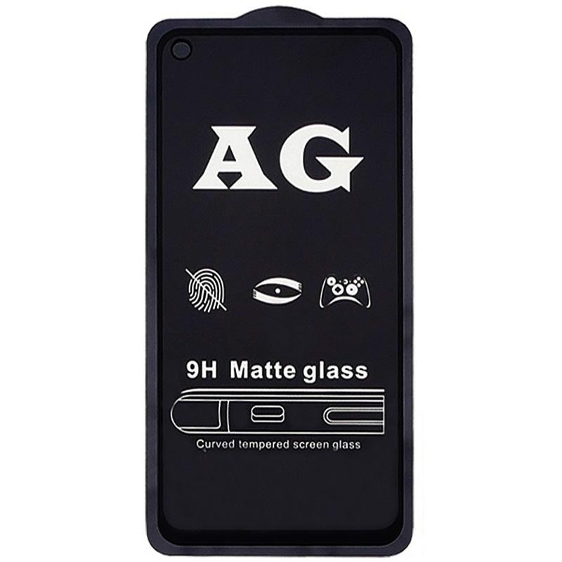 Защитное стекло 2.5D CP+ (full glue) Matte для Xiaomi Redmi Note 9 / Redmi 10X / Note 9T / Note 9 5G