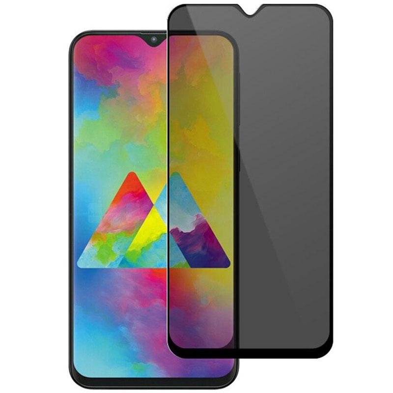 Защитное стекло Privacy 5D (full glue) для Samsung A20/A30/A30s/A50/A50s/M30/M30s/M31/M21/M21s