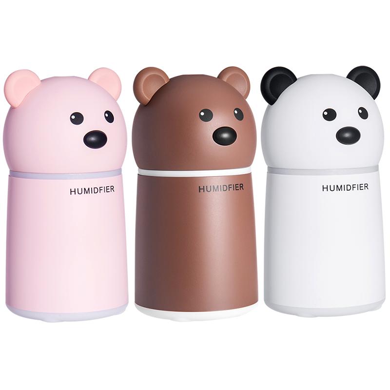 Увлажнитель воздуха Teddy Bear с арома-диффузором (lamp+fan)
