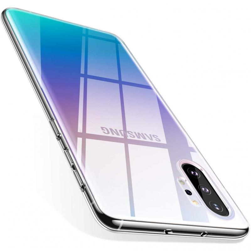 TPU чехол Epic Transparent 1,0mm для Samsung Galaxy Note 10 Plus