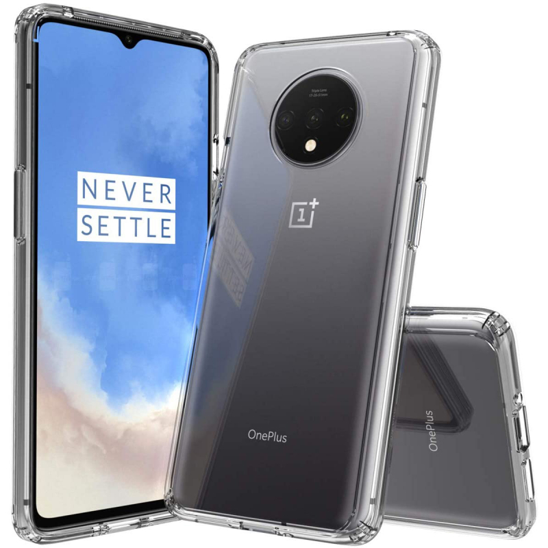 TPU чехол GETMAN Transparent 1,0 mm для OnePlus 7T