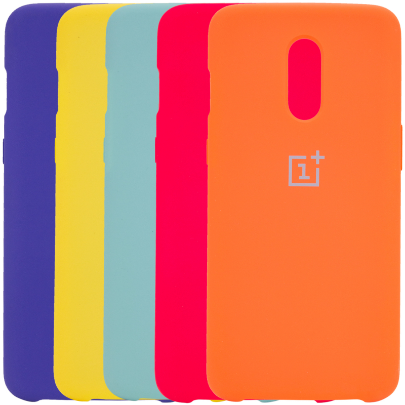 Чехол Silicone Cover (AA) для OnePlus 7