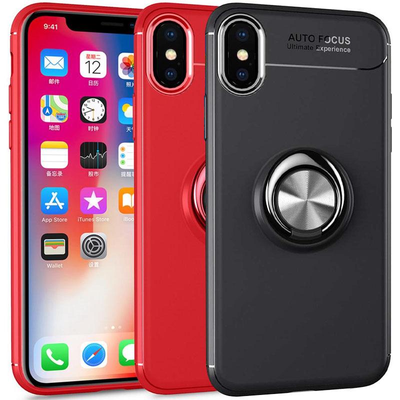 "TPU чехол Deen ColorRing под магнитный держатель (opp) для Apple iPhone XS Max (6.5"")"