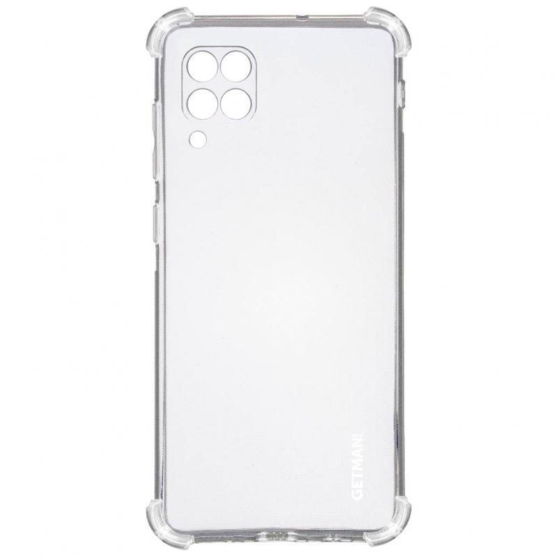 TPU чехол GETMAN Ease logo усиленные углы для Huawei P40 Lite