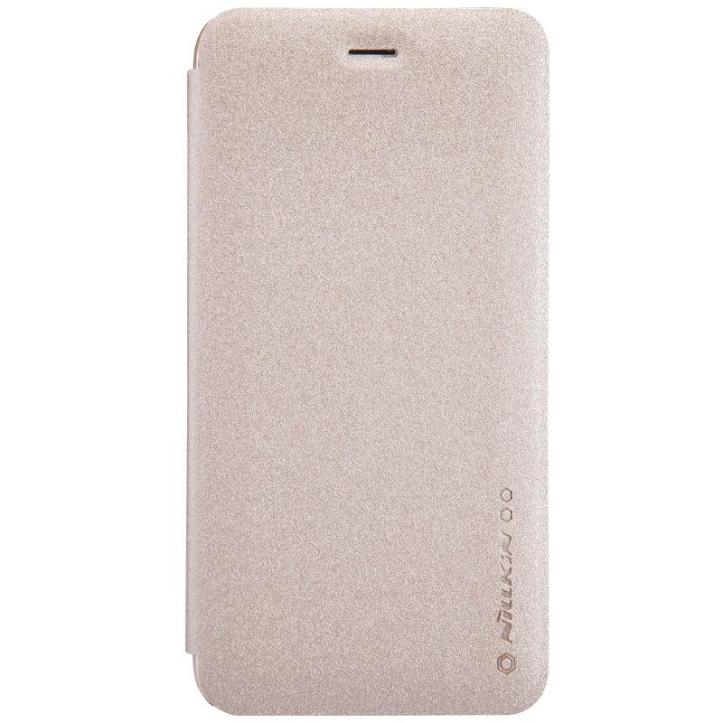 Кожаный чехол (книжка) Nillkin Sparkle Series для Samsung Galaxy M40