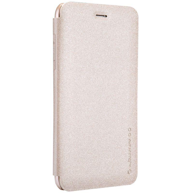 Кожаный чехол (книжка) Nillkin Sparkle Series для LG Q9 One