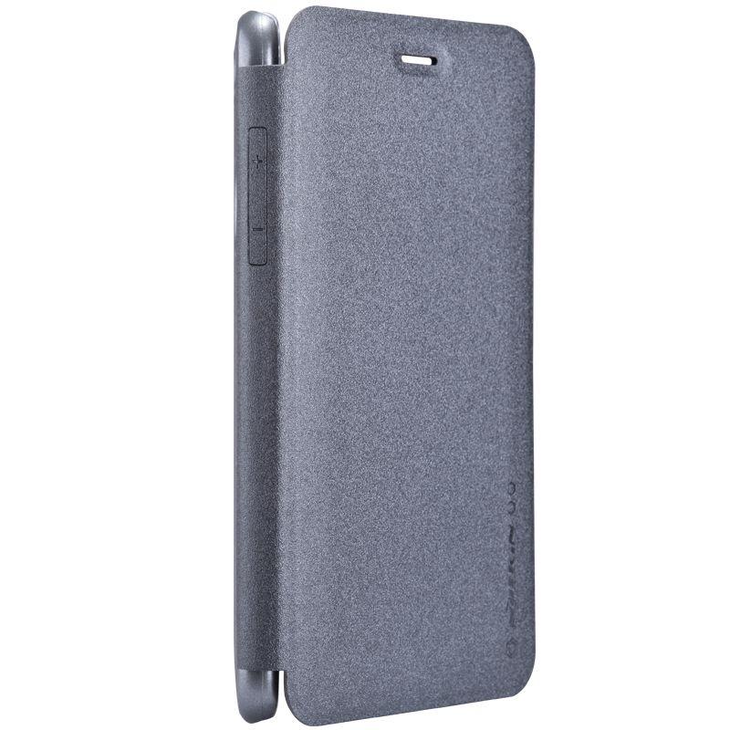 Кожаный чехол (книжка) Nillkin Sparkle Series для Huawei Nova 5i Pro