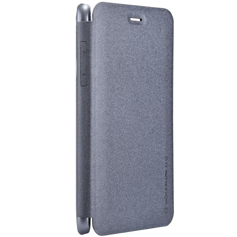 Кожаный чехол (книжка) Nillkin Sparkle Series для Xiaomi Redmi Note 8
