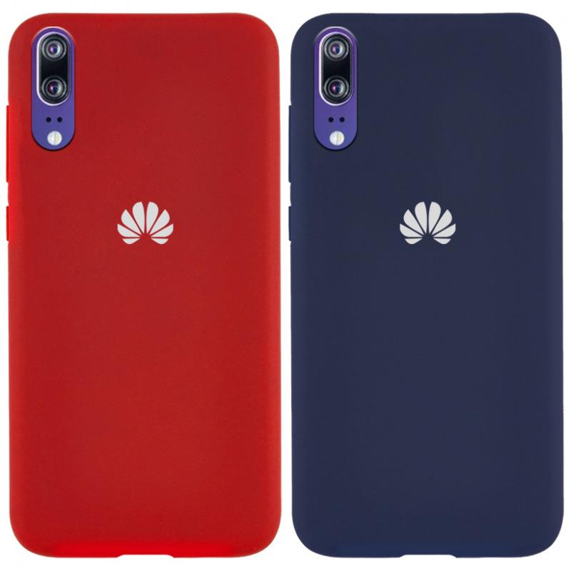 Чехол Silicone Cover Full Protective (AA) для Huawei P20