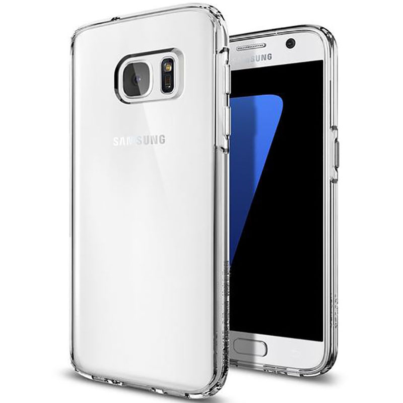 TPU чехол Epic Transparent 1,0mm для Samsung G935F Galaxy S7 Edge