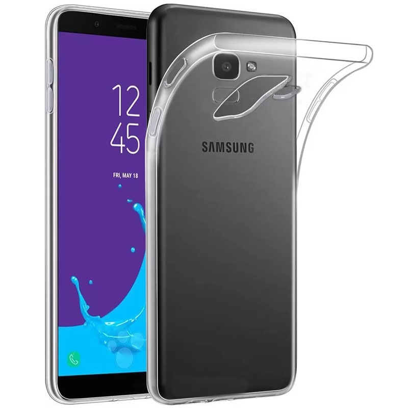 TPU чехол Epic Transparent 1,0mm для Samsung J600F Galaxy J6 (2018)