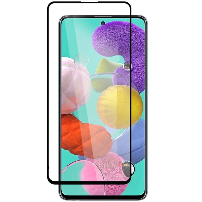 Защитное стекло Privacy 5D (full glue) (тех.пак) для Samsung Galaxy A71 / Note 10 Lite / M51