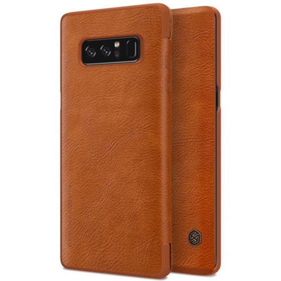 Кожаный чехол (книжка) Nillkin Qin Series для Samsung Galaxy Note 8