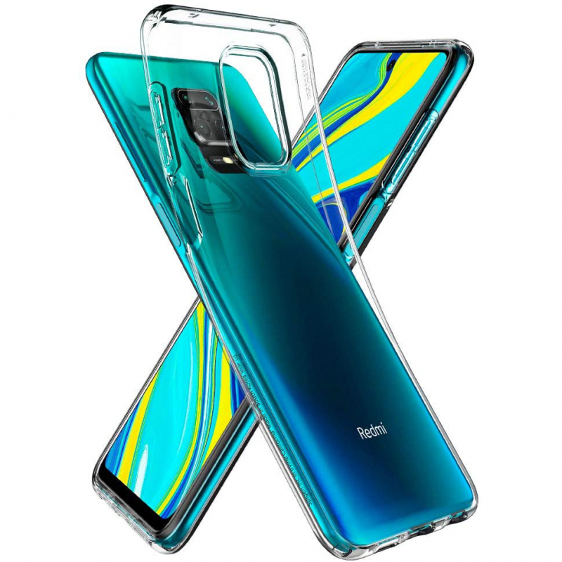 TPU чехол Epic Transparent 1,0mm для Xiaomi Redmi Note 9s / Note 9 Pro / Note 9 Pro Max
