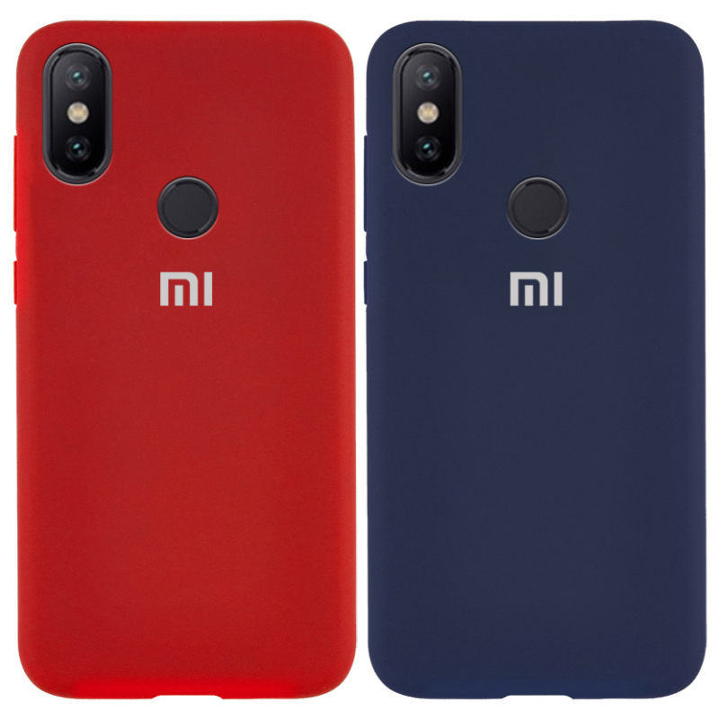 Чехол Silicone Cover Full Protective (AA) для Xiaomi Redmi Note 5 Pro / Note 5 (DC)