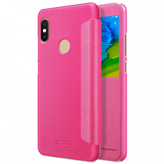 Купить. Кожаный чехол (книжка) Nillkin Sparkle Series для Xiaomi Redmi Note  5 Pro   Note 365a7d4666136