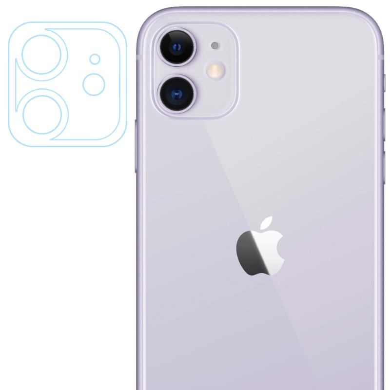 "Гибкое защитное стекло 0.18mm на камеру и весь блок (тех.пак) для Apple iPhone 11 (6.1"")"