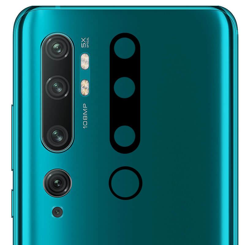 Гибкое защитное стекло 0.18mm на камеру (тех.пак) для Xiaomi Mi Note 10 / Note 10 Pro / Mi CC9 Pro