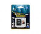 Карта памяти Team microSDXC UHS-1 64 GB Class 10 + SD adapter