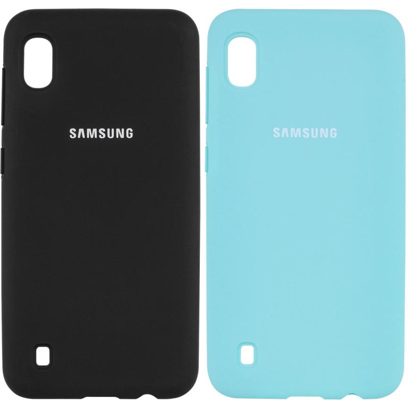 Чехол Silicone Cover Full Protective (AA) для Samsung Galaxy A10 (A105F)
