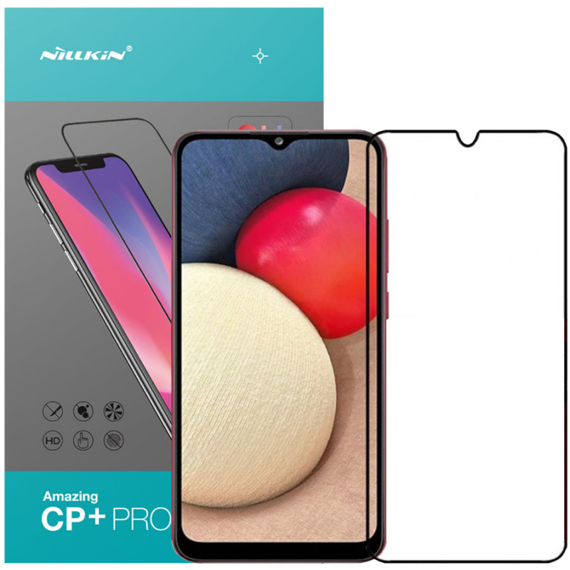 Защитное стекло Nillkin (CP+PRO) для Samsung Galaxy A02s / A02 / M02s / M02