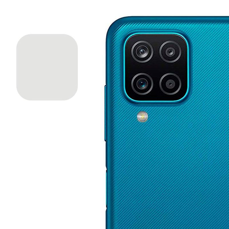 Гибкое защитное стекло 0.18mm на камеру (тех.пак) для Samsung Galaxy A12 / M12