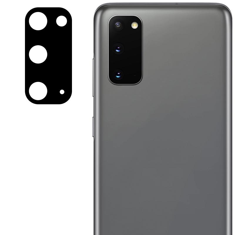 Гибкое защитное стекло 0.18mm на камеру (тех.пак) для Samsung Galaxy S20