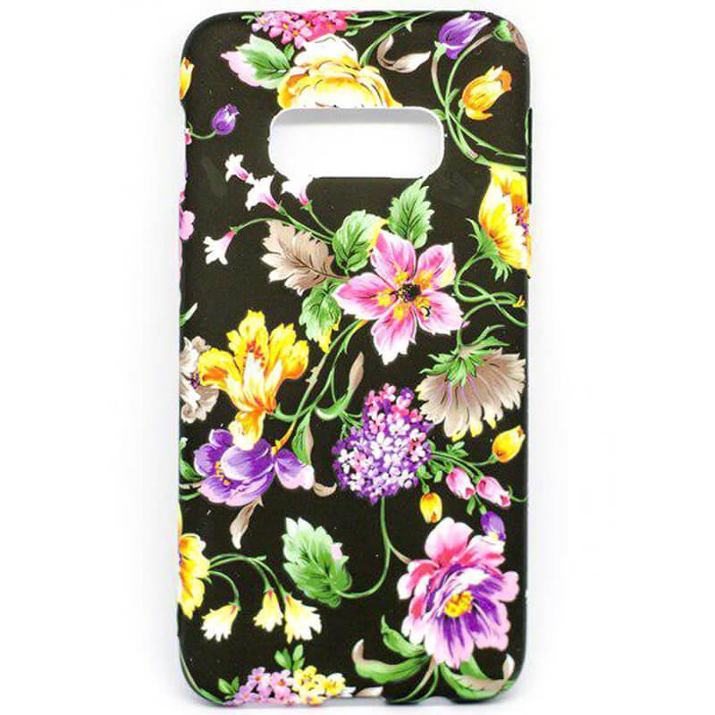 TPU чехол Акварель Flower series для Samsung Galaxy S10