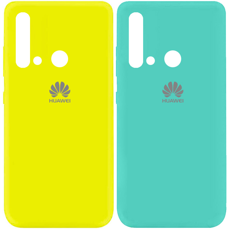 Чехол Silicone Cover My Color Full Protective (A) для Huawei P20 lite (2019)