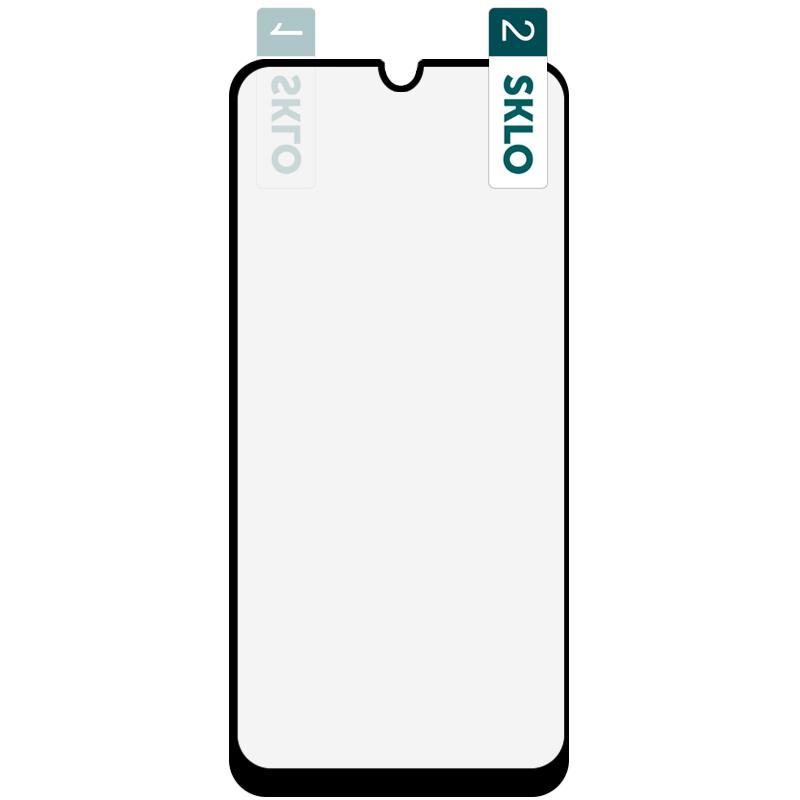 Гибкое защитное стекло SKLO Nano (тех.пак) для Samsung Galaxy A20/A30/A30s/A50/A50s/M30/M30s/M31/M21