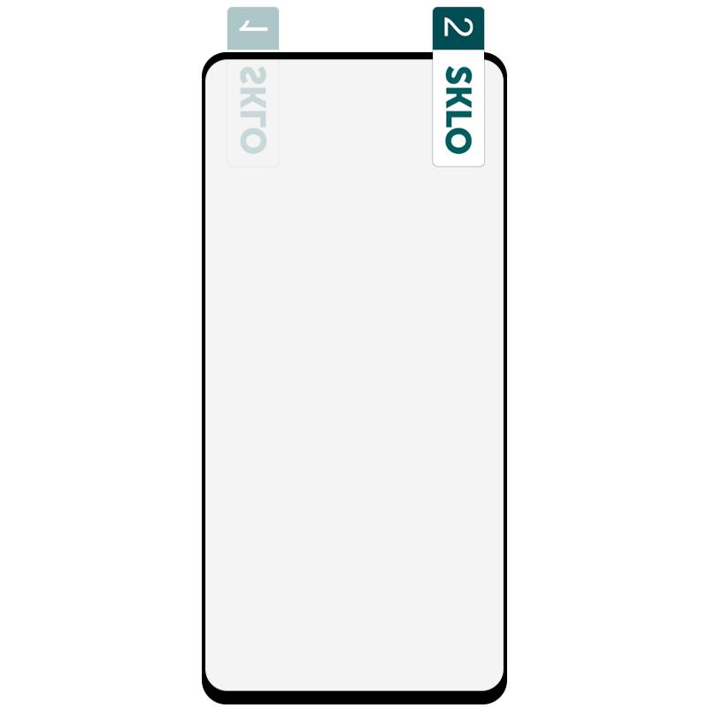 Гибкое защитное стекло SKLO Nano (тех.пак) для Samsung Galaxy A21 / A21s