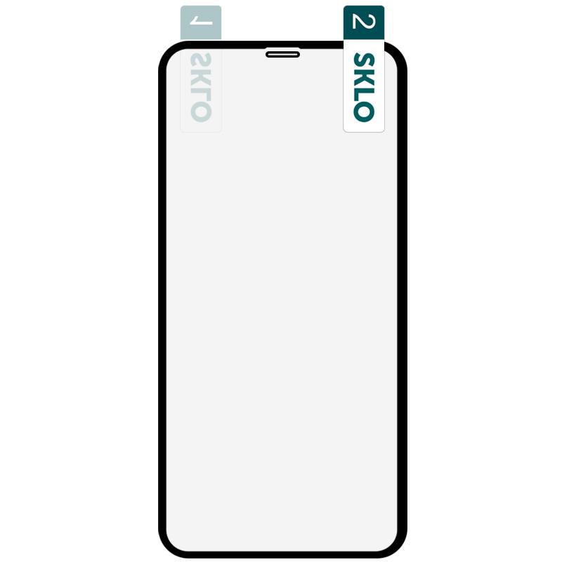 """Гибкое защитное стекло SKLO Nano (тех.пак) для Apple iPhone 11 Pro Max / XS Max (6.5"""")"""