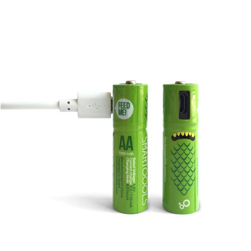 Аккумуляторные батарейки Smartoools AA 1000 mah 2 pcs