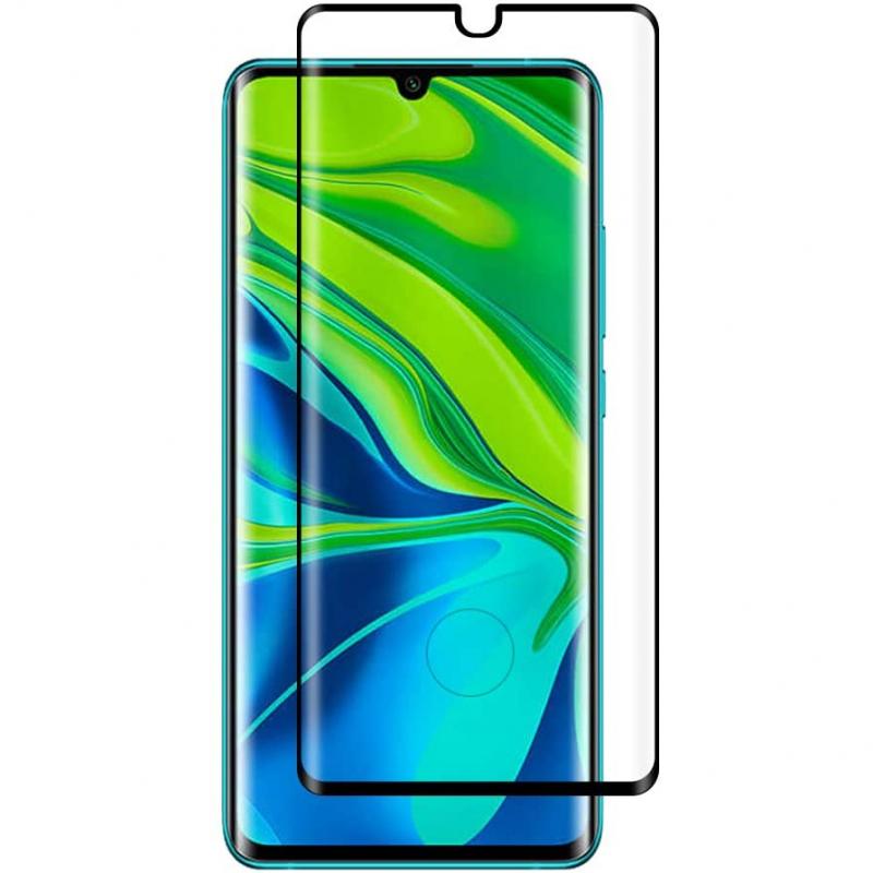 Защитное стекло 3D 9H (full glue) (без упаковки) для Xiaomi Mi Note 10 / Note 10 Pro / Mi CC9 Pro