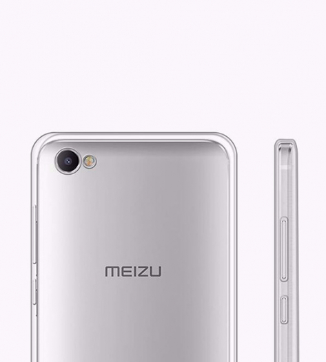 TPU чехол Ultrathin Series 0,33mm для Meizu U10