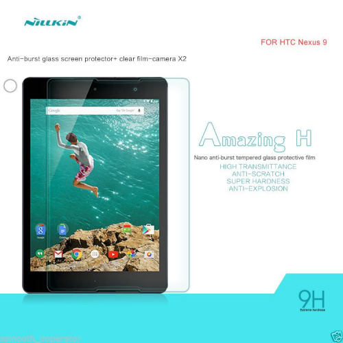 Защитное стекло Nillkin Anti-Explosion Glass Screen (H) для HTC Google Nexus 9