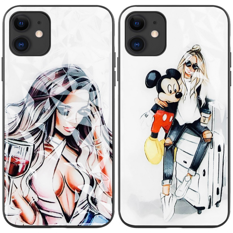 "TPU+PC чехол Prisma Ladies для Apple iPhone 11 (6.1"")"