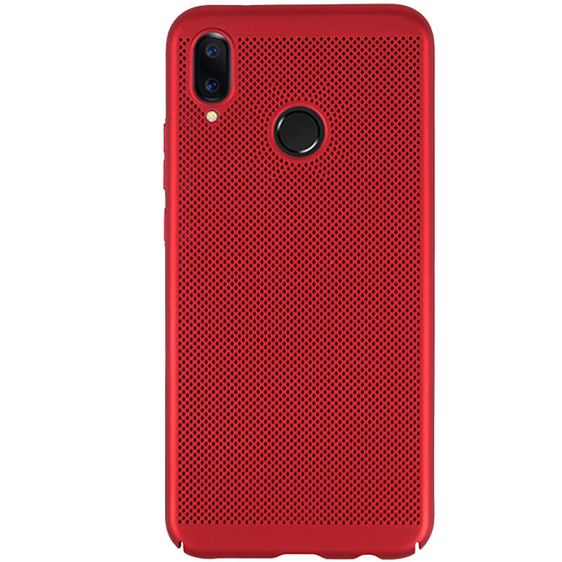 Ультратонкий дышащий чехол Grid case для Samsung Galaxy M20