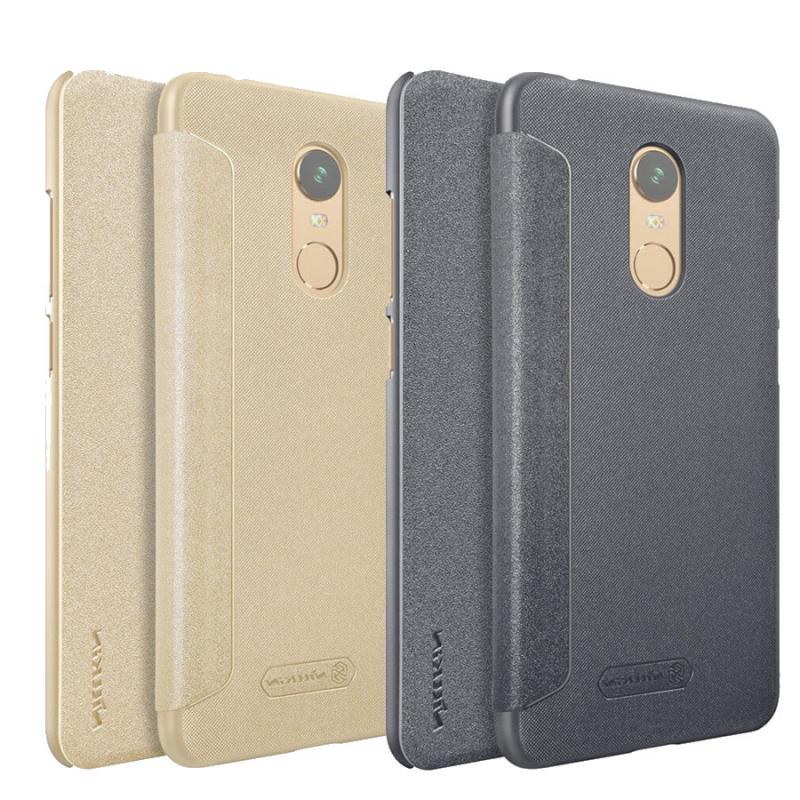 Кожаный чехол (книжка) Nillkin Sparkle Series для Xiaomi Redmi 5 1172ab1409472