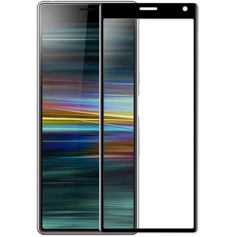 Защитное цветное 3D стекло Mocolo для Sony Xperia 10 Plus