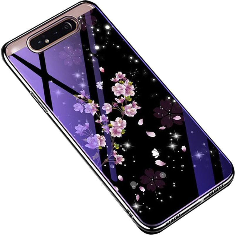 TPU+Glass чехол Fantasy с глянцевыми торцами для Samsung Galaxy A80 / A90