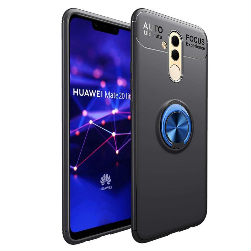 TPU чехол Deen ColorRing под магнитный держатель для Huawei Mate 20 lite